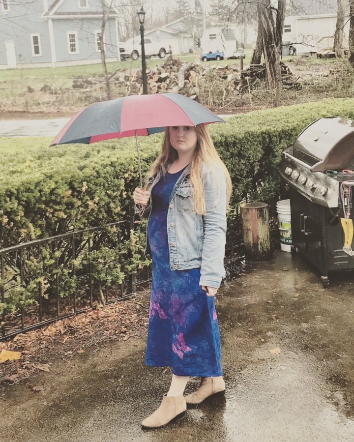 THE FASHION DIARIES: The Rainy Day Batik Effect